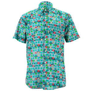 Regular Fit Short Sleeve Shirt - Spotty