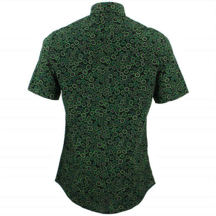 Tailored Fit Short Sleeve Shirt - Floral Burst