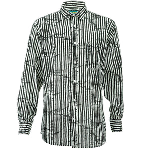 Regular Fit Long Sleeve Shirt - Lines