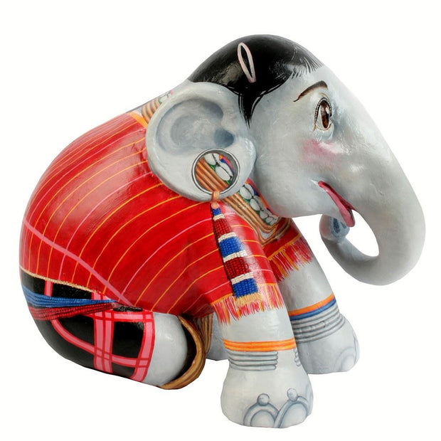 Limited Edition Replica Elephant - Red Karen (10cm)