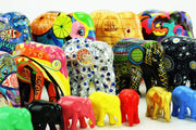 Limited Edition Replica Elephant - Porcelain Patchwork