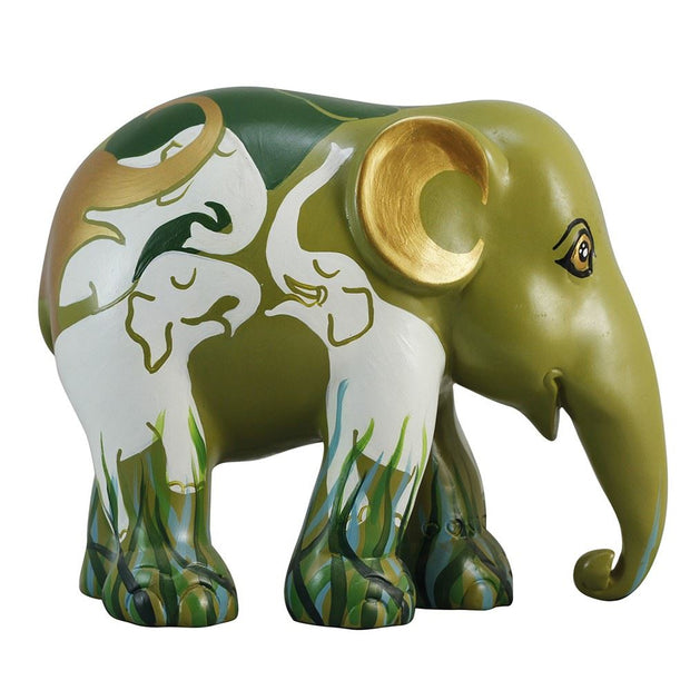 Limited Edition Replica Elephant - Elephants Communicating (10cm)