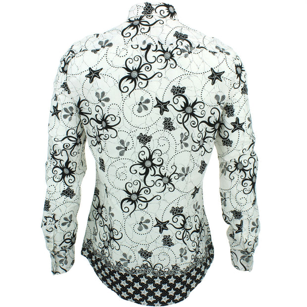 Slim Fit Long Sleeve Shirt - Tendrills
