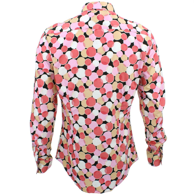 Slim Fit Long Sleeve Shirt - Venn Circles
