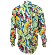 Regular Fit Long Sleeve Shirt - Multi-coloured Floral Rivers