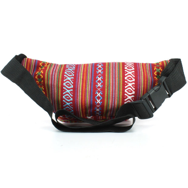 Canvas Bumbag - Red