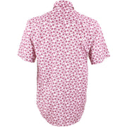 Regular Fit Short Sleeve Shirt - Pink Penny Farthing Bicycles