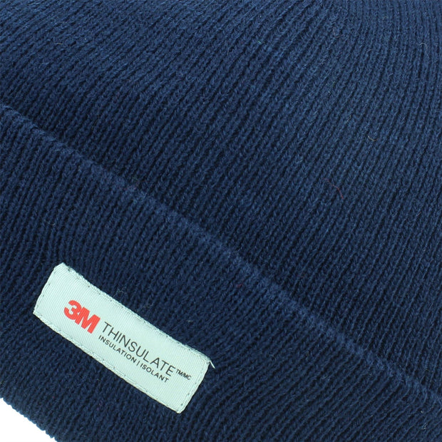 3M Beanie Hat with Fleece Lining - Navy