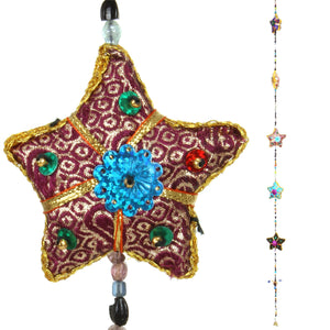 Handmade Rajasthani Strings Hanging Decorations - Stars