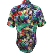 Slim Fit Short Sleeve Shirt - Cactus