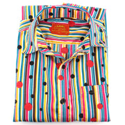 Tailored Fit Short Sleeve Shirt - Stripes & Spots