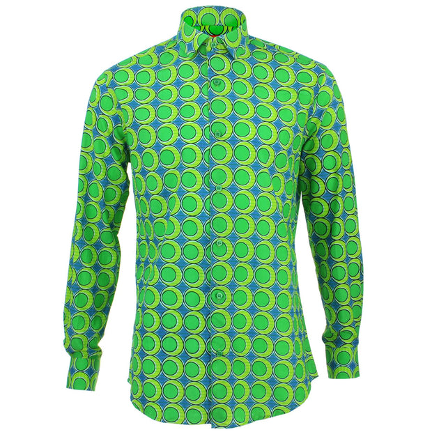 Tailored Fit Long Sleeve Shirt - Green Eggs