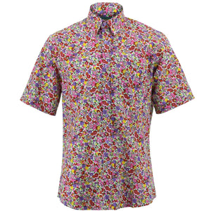 Regular Fit Short Sleeve Shirt - Ditzy Floral