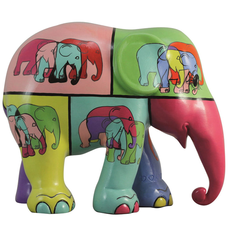 Limited Edition Replica Elephant - Pop Art