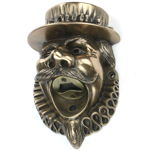 Wall Mounted Character Bottle Opener - Beefeater (Bronze)