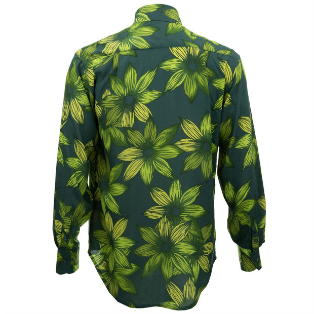 Regular Fit Long Sleeve Shirt - Wild Daffodil