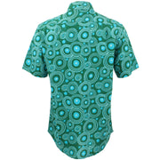 Regular Fit Short Sleeve Shirt - Umbrellas