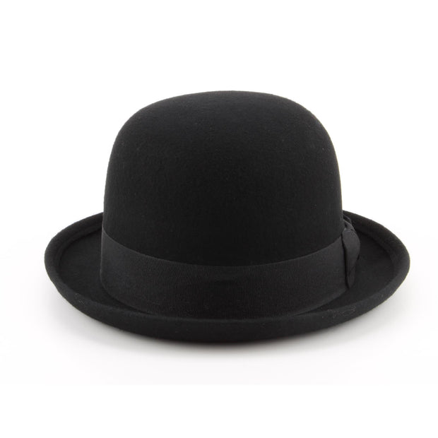 Wool felt bowler Derby hat - Black