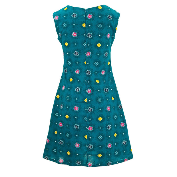 Nifty Shifty Dress - Blue Explosion