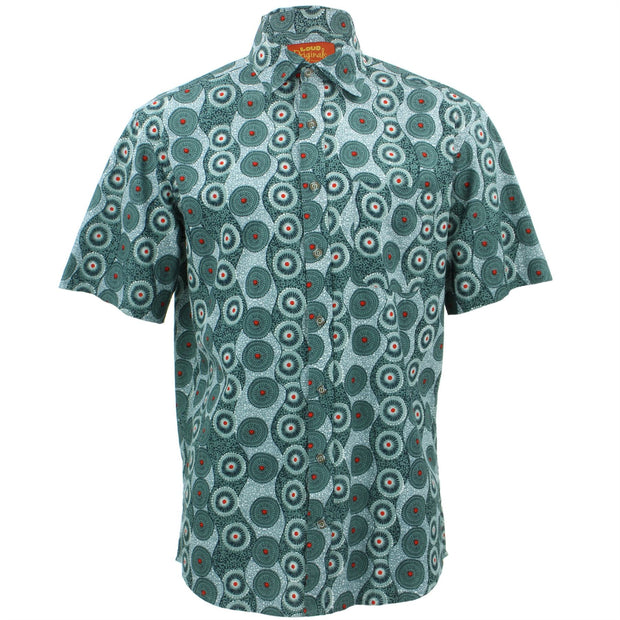 Regular Fit Short Sleeve Shirt - Umbrella Walkways