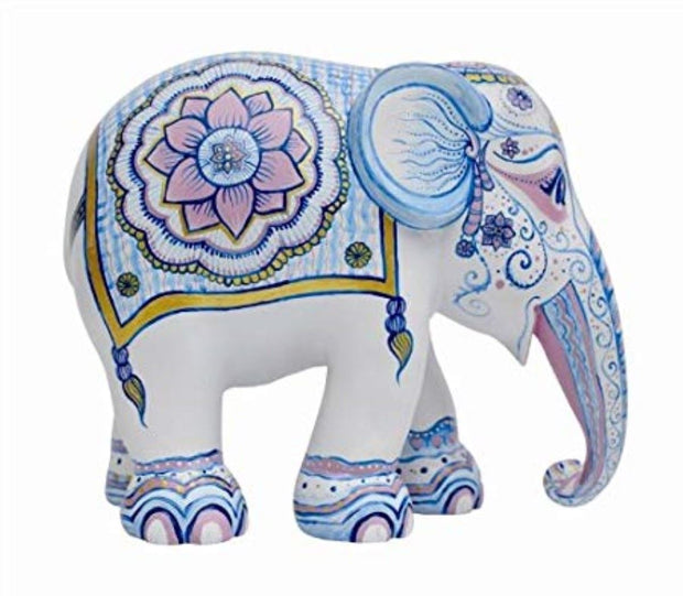 Limited Edition Replica Elephant - Indian Blues (10cm)