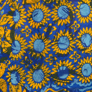 Mandarin Mini Dress - Sunflower Glow Blue