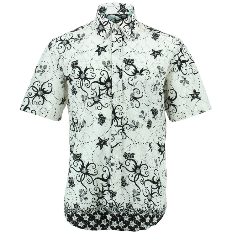 Regular Fit Short Sleeve Shirt - Tendrils