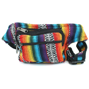 Canvas Bumbag - Rainbow