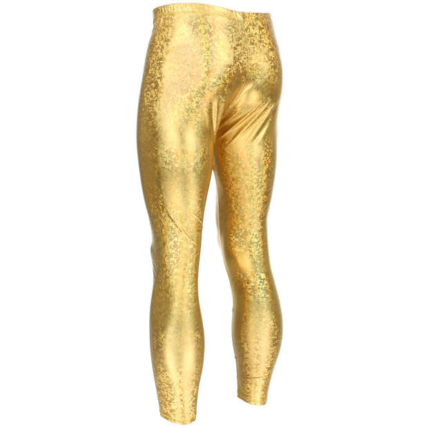 Shiny Meggings - Gold