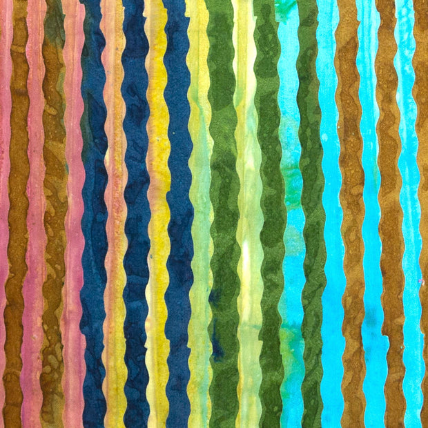 Nifty Shifty Dress - Rainbow Wave