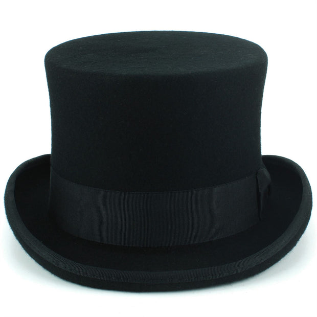 Wool Felt Top Hat - Black