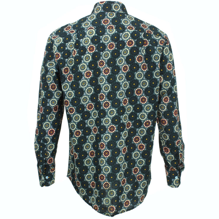 Regular Fit Long Sleeve Shirt - Kaleidoscope