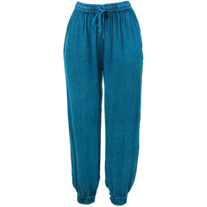Harem Trousers - Turquoise