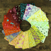 Cotton Batik Pre Cut Fabric Bundles - Fat Quarter - Summer Nights