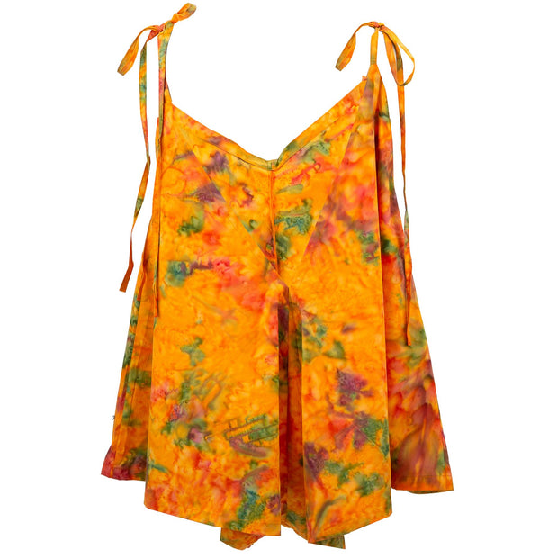 Short Jumpsuit - Orange Mist