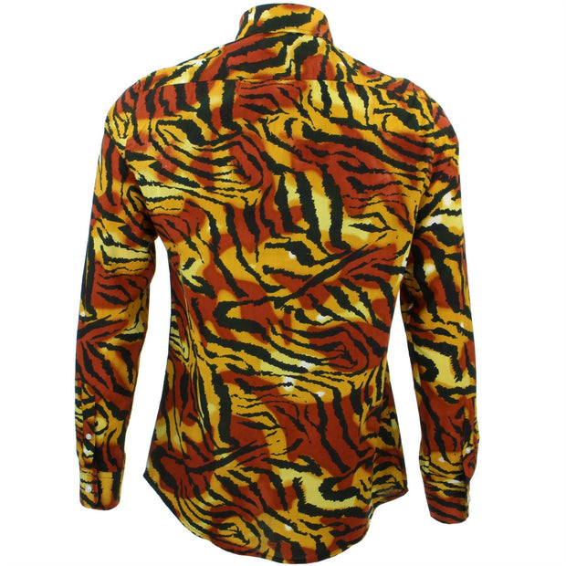 Tailored Fit Long Sleeve Shirt - Tiger