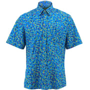 Regular Fit Short Sleeve Shirt - Circles