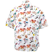 Regular Fit Short Sleeve Shirt - Spring Meadow