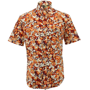 Regular Fit Short Sleeve Shirt - Autumn