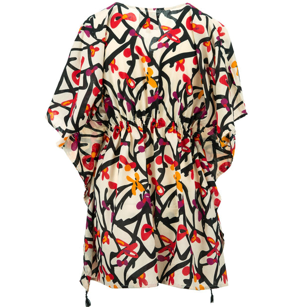 Beach Kaftan Cover-Up - Wild Garden