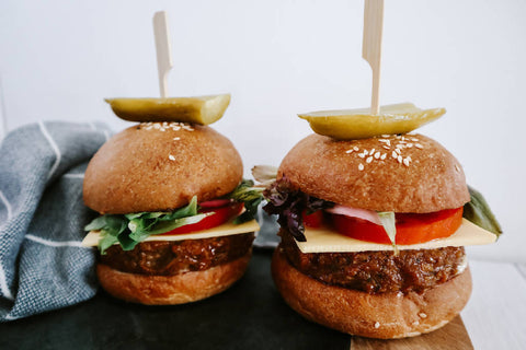 The Classic Burger meal kit for two