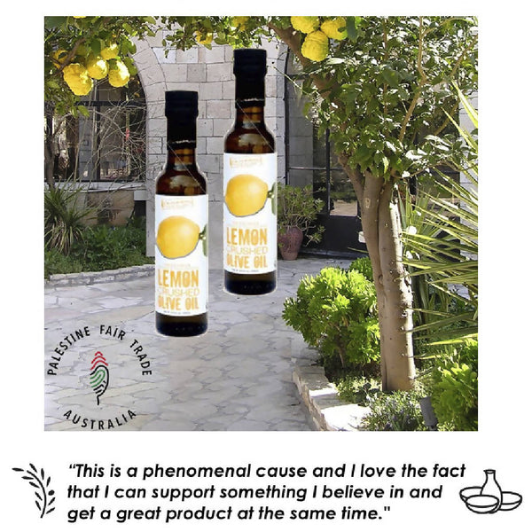 Organic Infused Olive Oil - Lemon Twin Pack
