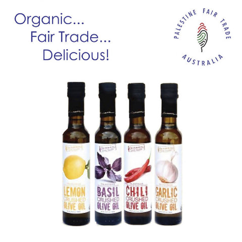Organic Infused Olive Oils - Choose your flavour
