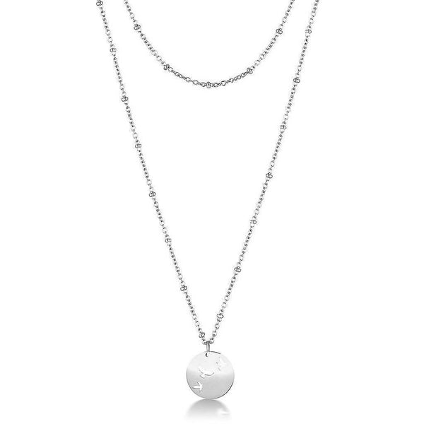 Bird Ball Chain Necklace
