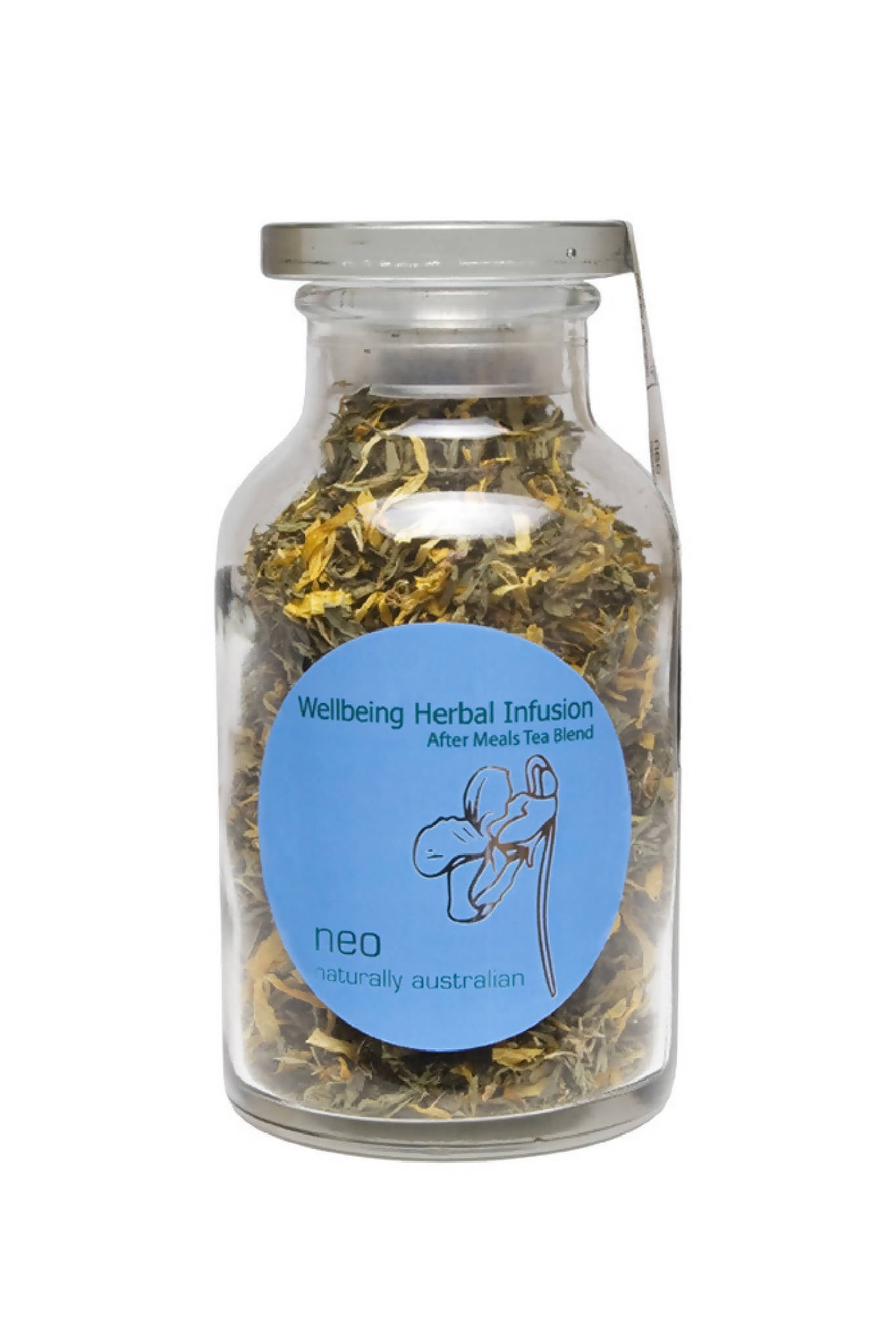 Neo Wellbeing After Meals Digestive Tea Jar 65g