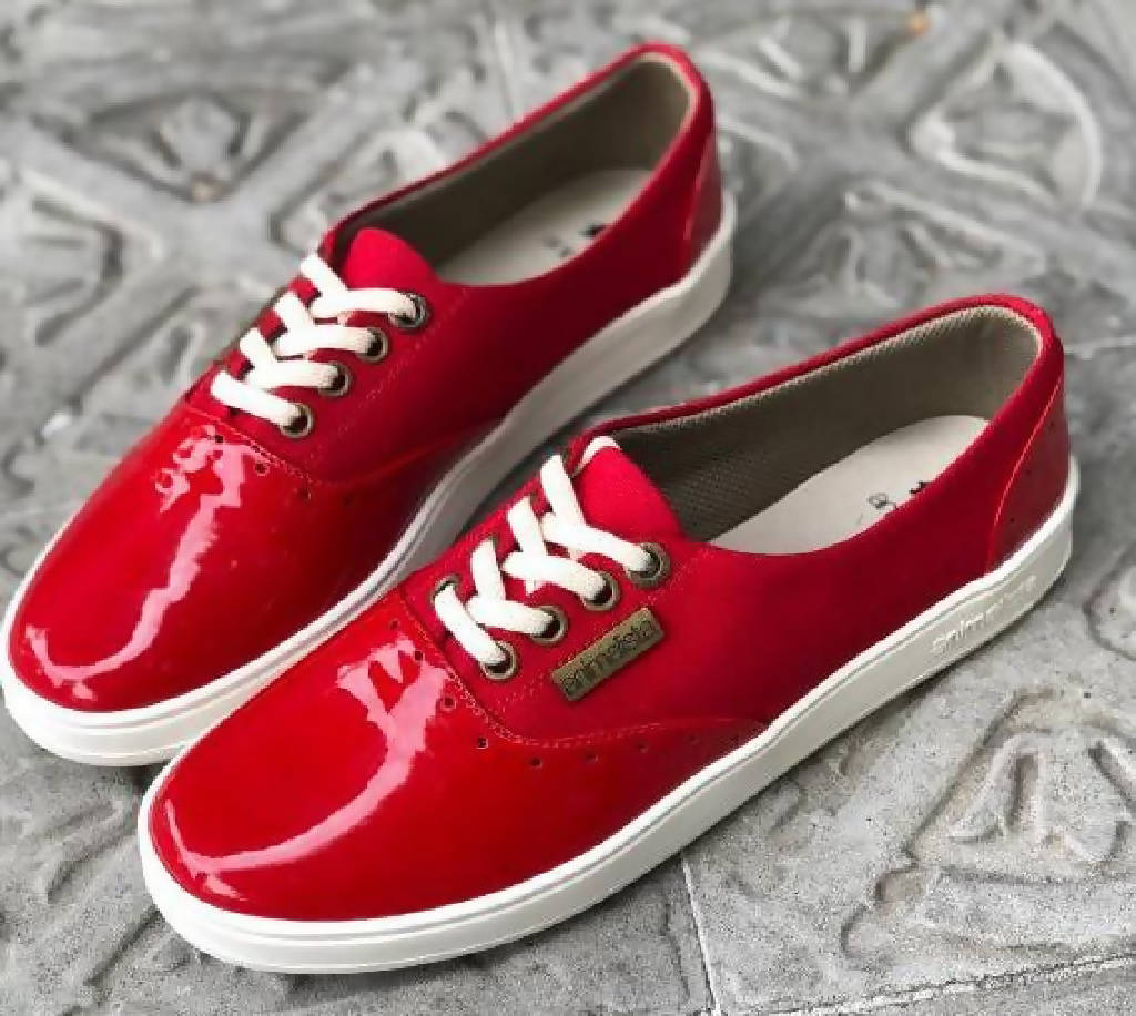 Cocacolo Red Sneakers