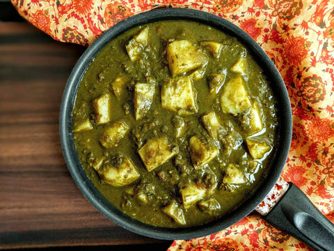 Aloo Palak (Potato Spinach)