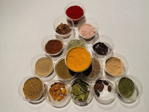 Ultimate Indian Herbs & Spices Box (16 different herbs & spices - ***FREE SHIPPING AUSTRALIA WIDE***)