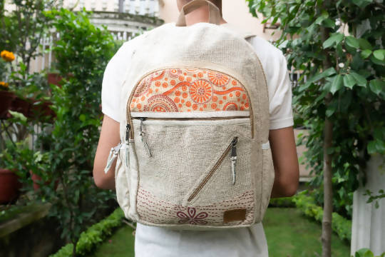 Hemp Backpack | Hemp Bag | Backpack | Hemp | Vegan | Handmade | Stylish | Color