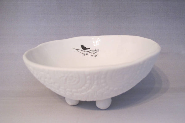 Birds and Bees Jewellery Dish